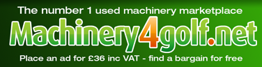 Machinery 4 Golf